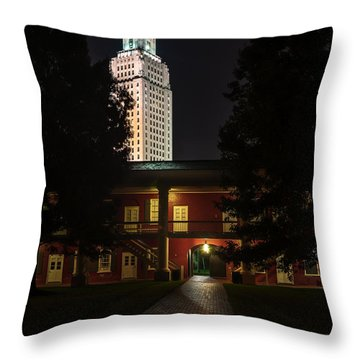 Louisiana State Capitol And Pentagon Barracks Throw Pillow