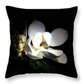 Louisiana Beauty  Throw Pillow by Cecil Fuselier