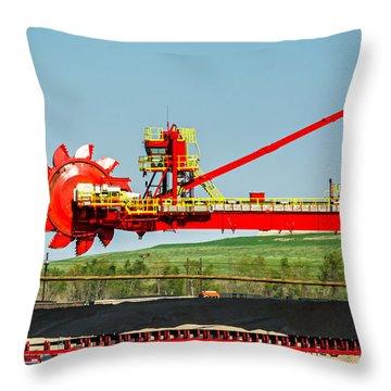 Louisiana Giant 3 Throw Pillow by Steve Harrington