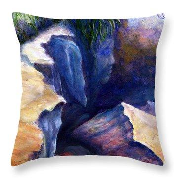 Louisiana Kisatchie Surrealism Throw Pillow