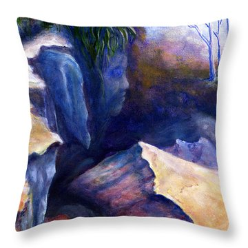 Louisiana Kisatchie Surrealism Throw Pillow