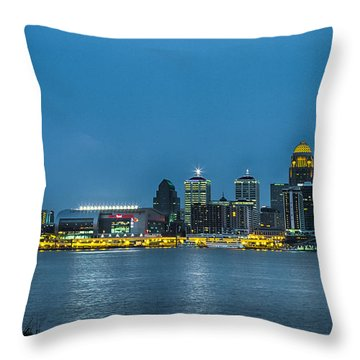 Louisville Ky 2012 Throw Pillow