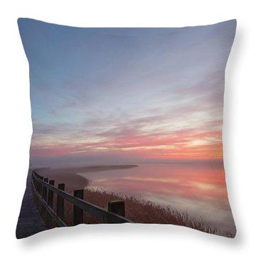 Boardwalk Throw Pillows
