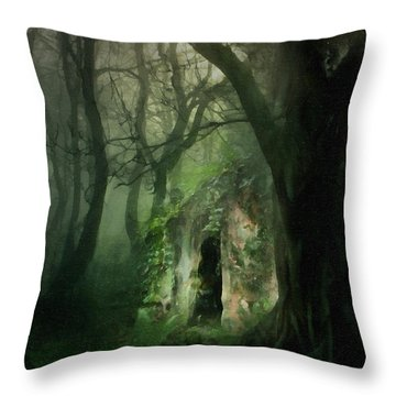 Love Affair With A Forest Throw Pillow