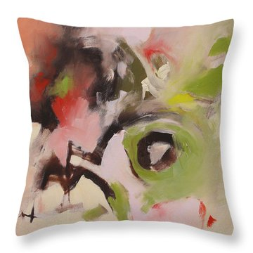Love And Envy Throw Pillow