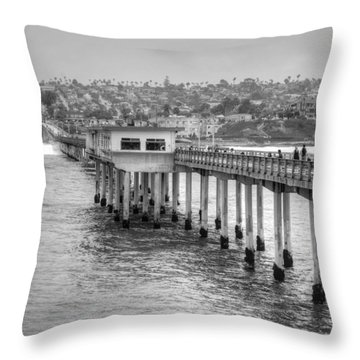 Love At First Wave Throw Pillow