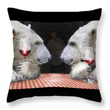 Throw Pillow featuring the digital art Love Bears All Things by Jane Schnetlage