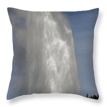 Love Beehive Geyser Throw Pillow