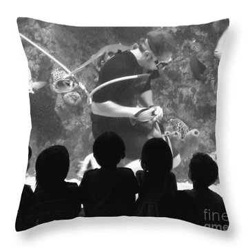 Love Being A Kid Throw Pillow