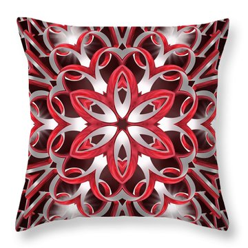 Love Blossoms Throw Pillow by Derek Gedney