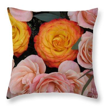 Love Bouquet Throw Pillow