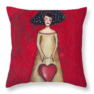 Love Bringer Throw Pillow