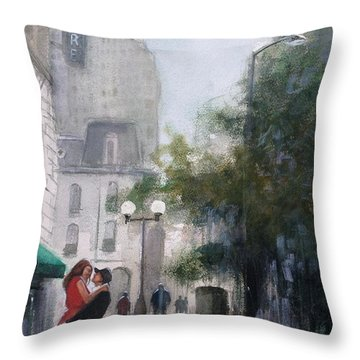 Love By The Biltmore Throw Pillow