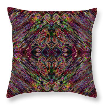 Love Centered In The Reach Throw Pillow