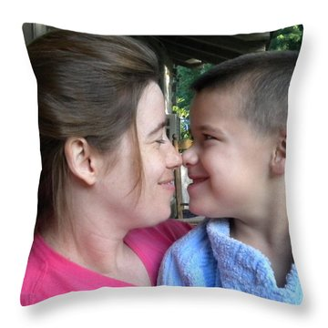 Throw Pillow featuring the photograph Love by Diannah Lynch