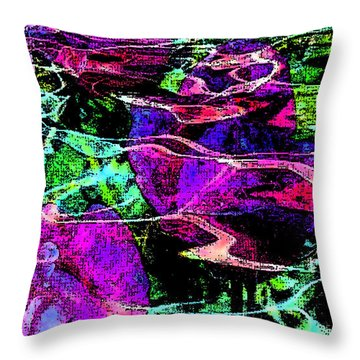 Love Ever Gives Throw Pillow
