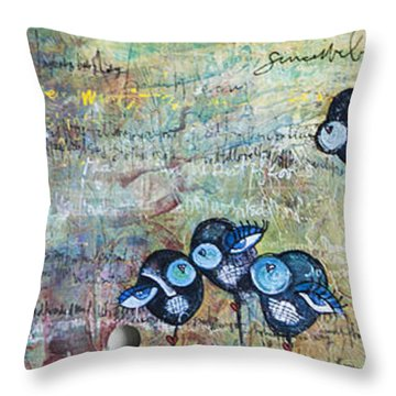Love For Jimi And Jimmy Throw Pillow