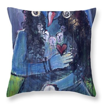 Love For Kali Throw Pillow
