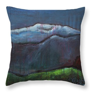 Love For Pikes Peak Throw Pillow