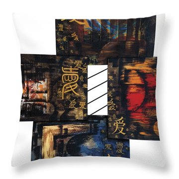 Love Four Seasons Throw Pillow
