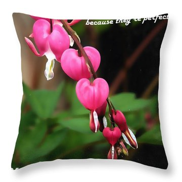 Throw Pillow featuring the mixed media Love Galore 35 by Holley Jacobs
