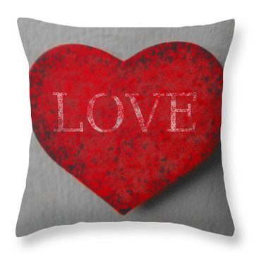 Love Heart 1 Throw Pillow
