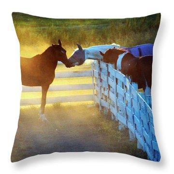 Love In Kentucky Throw Pillow