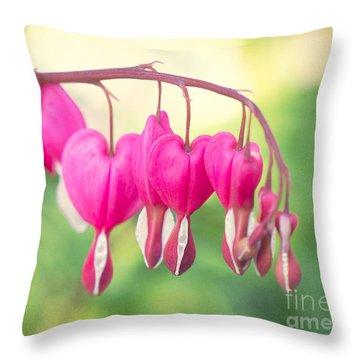 Love In Springtime Throw Pillow