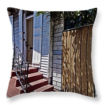 Love In The Marigny Throw Pillow