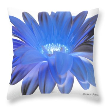 Throw Pillow featuring the digital art Love Is A Gift by Jeannie Rhode
