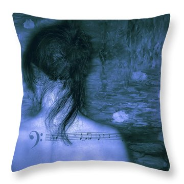 Love Is A Mystery Throw Pillow by Joachim G Pinkawa
