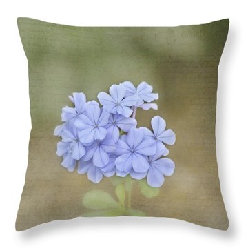 Love Letter Throw Pillow by Kim Hojnacki