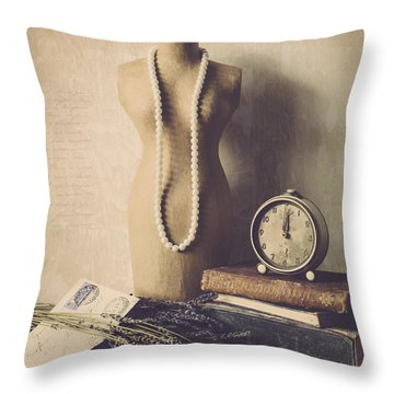 Dress Form Photographs Throw Pillows