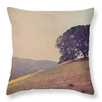 Love Lifts Us Up Throw Pillow by Laurie Search