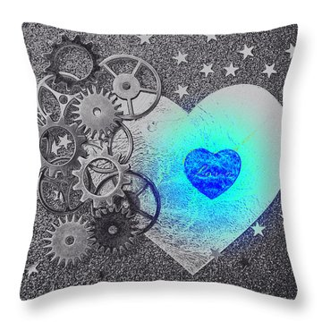 Throw Pillow featuring the photograph Love Makes It Work II by Christine Ricker Brandt