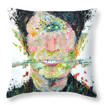 Love Me Do Throw Pillow