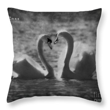 Love... Throw Pillow