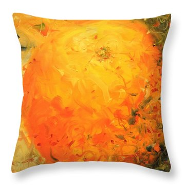 Love Of Three Oranges I Throw Pillow