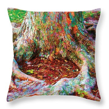 Love Of Trees Throw Pillow