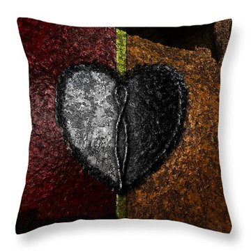 Love On The Line Throw Pillow