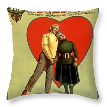 Love Or Mush Throw Pillow by Terry Reynoldson