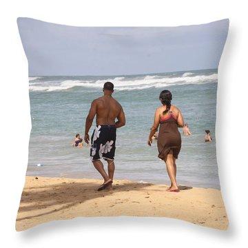 Love Stroll Throw Pillow
