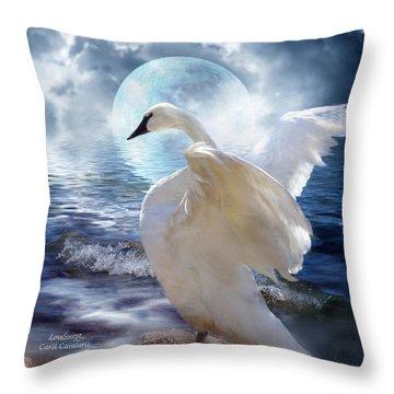 Love Swept Throw Pillow