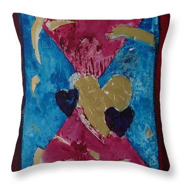 Love The Lord Your God Throw Pillow