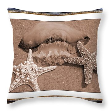 Love Triangle  Throw Pillow by Betsy Knapp
