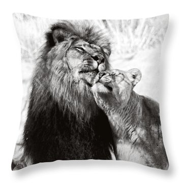 Love Ya You Big Lug Throw Pillow