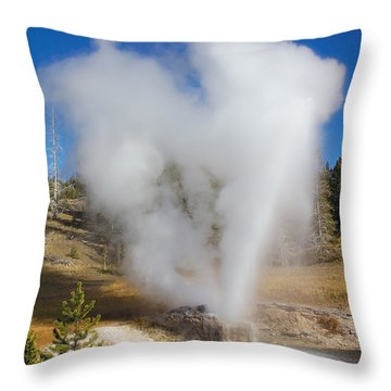 Love Yellowstone Two Throw Pillow