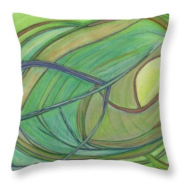 Loveliness Arises Throw Pillow