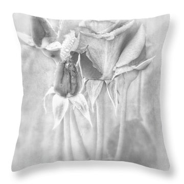 Throw Pillow featuring the photograph Loveliness by Peggy Hughes
