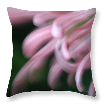 Throw Pillow featuring the photograph Lovely In Pink by Mary Lou Chmura